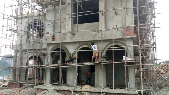 Cận cảnh biệt thự khủng xây trái phép của Công ty ximăng Công Thanh - Ảnh 7.
