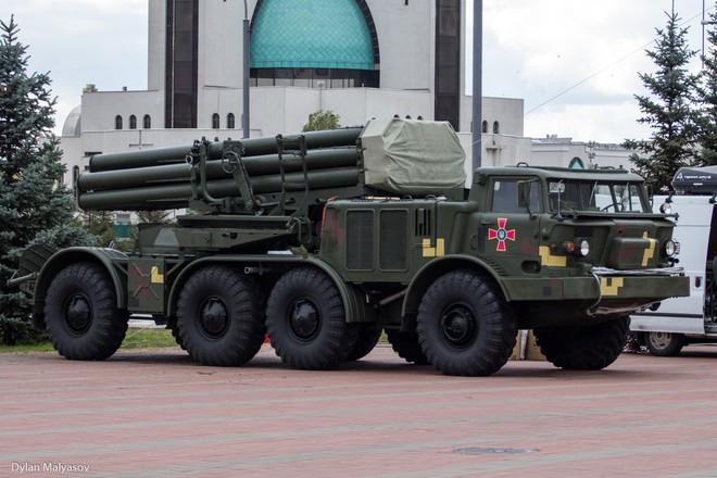 Ukraine tăng cường pháo phản lực phóng loạt cực mạnh: Ly khai miền Đông lạnh người? - Ảnh 1.