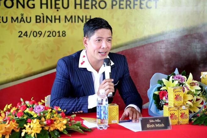 Siêu mẫu Bình Minh làm đại sứ thương hiệu Thực phẩm bảo vệ sức khỏe Hero Perfect - Ảnh 2.