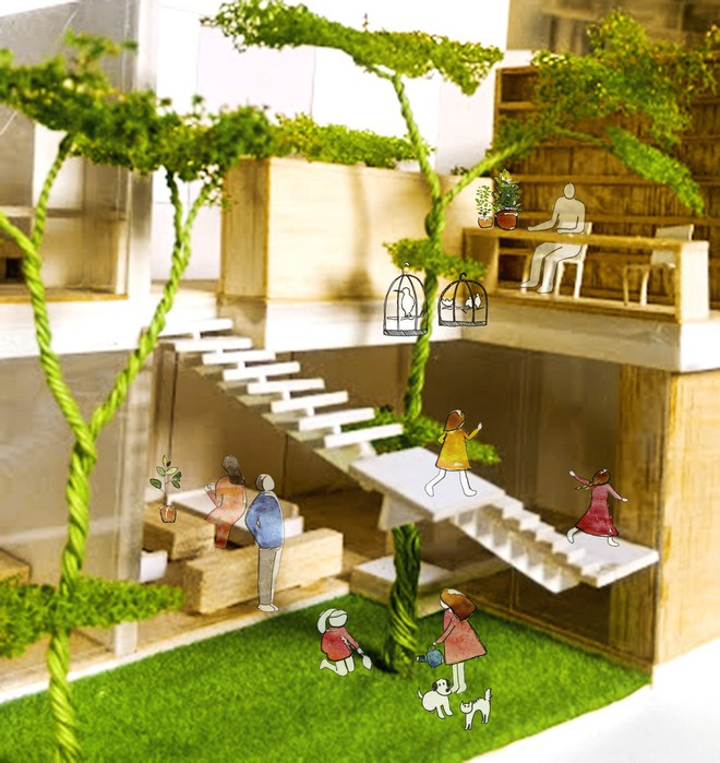 Ngôi nhà bậc thang của người Việt đẹp lạ trên báo Mỹ - Ảnh 1.