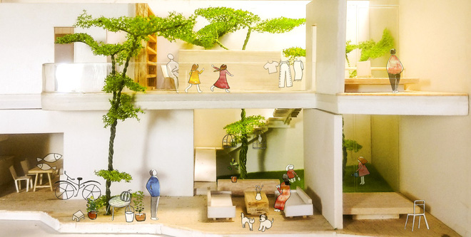 Ngôi nhà bậc thang của người Việt đẹp lạ trên báo Mỹ - Ảnh 2.