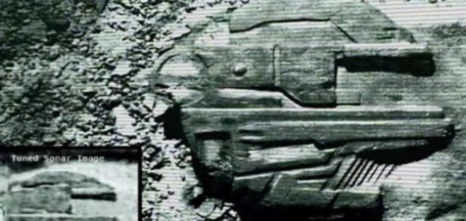 Những thứ kì lạ được tìm thấy dưới biển: Có cả tàu vũ trụ của người ngoài hành tinh - ảnh 6