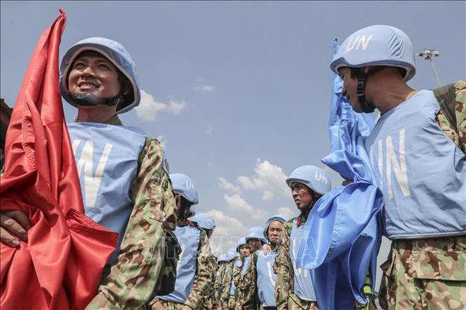 Những hình ảnh đầu tiên của các bác sĩ quân y Việt Nam tại Nam Sudan - ảnh 4