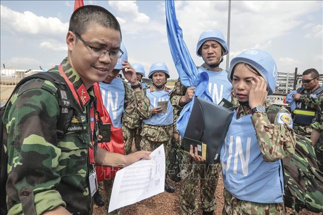 Những hình ảnh đầu tiên của các bác sĩ quân y Việt Nam tại Nam Sudan - ảnh 5