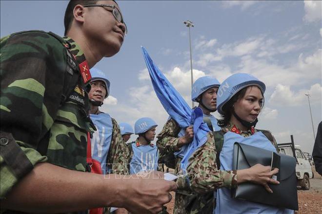 Những hình ảnh đầu tiên của các bác sĩ quân y Việt Nam tại Nam Sudan - ảnh 6