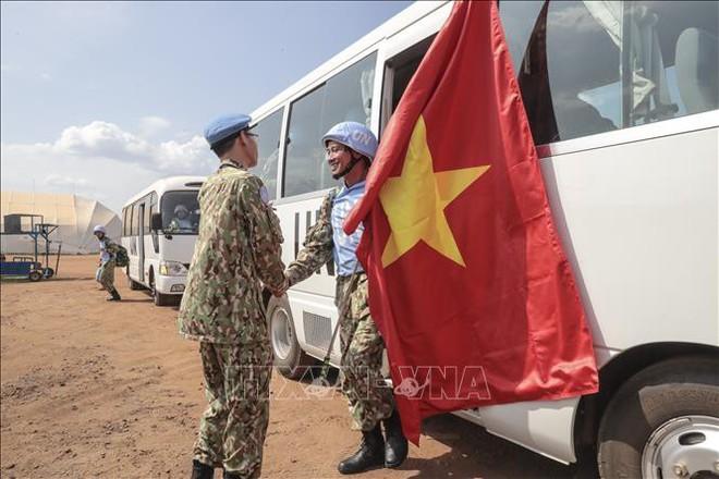 Những hình ảnh đầu tiên của các bác sĩ quân y Việt Nam tại Nam Sudan - ảnh 7