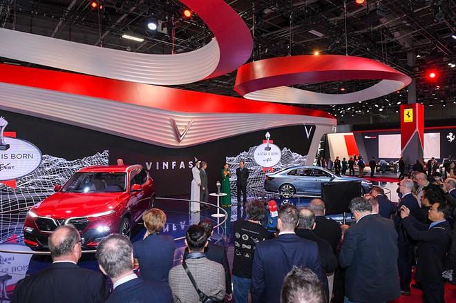 VinFast nhận giải thưởng quốc tế đầu tiên sau màn ra mắt tại Paris Motor Show - Ảnh 1.