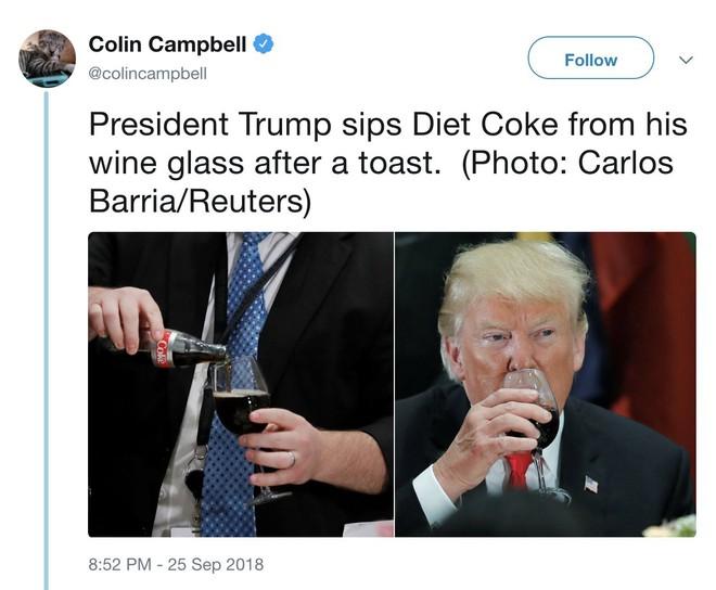 """Cả đời không uống một giọt rượu, ông Trump giỏi kiểm soát hay có nỗi ám ảnh """"thầm kín""""?"""