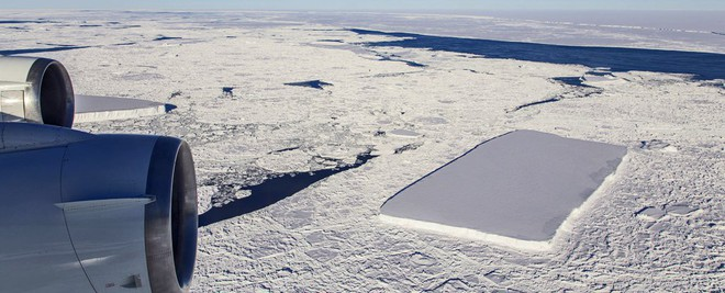 Chuyện gì sẽ xảy ra với tảng băng hình chữ nhật từng gây sốt của NASA? - Ảnh 2.
