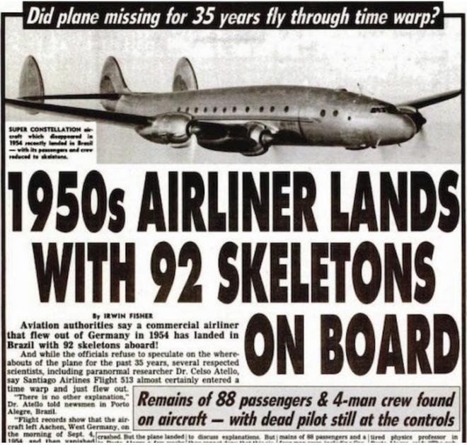 Sự thật về chiếc máy bay mất tích trở về với 92 bộ xương - Ảnh 1.