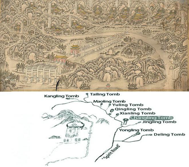 Lăng mộ của 13 hoàng đế nhà Minh: Khai quật sau 500 năm, cổ vật châu báu vẫn nguyên vẹn - Ảnh 2.