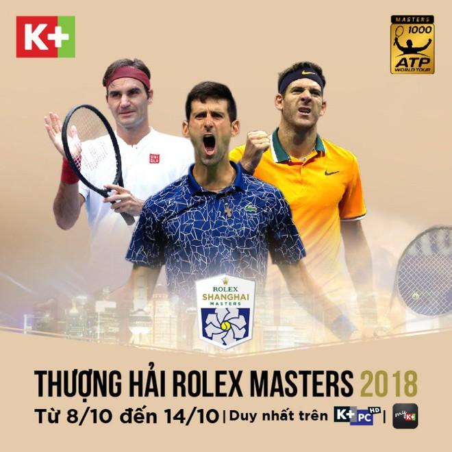 ATP 1000: Thượng Hải Masters – Cuộc so kè giữa Federer và Djokovic - Ảnh 1.