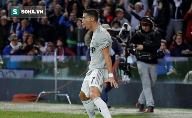 """Giữa nghi án hiếp dâm, Ronaldo lại """"làm khổ"""" đối thủ bằng cú ra chân nhanh như điện xẹt"""