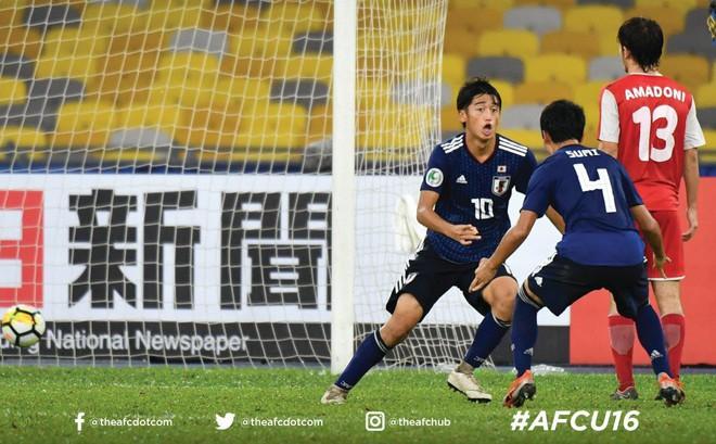"""Đánh bại """"ngựa ô"""" của giải đấu, U16 Nhật Bản đăng quang ngôi vô địch châu Á"""