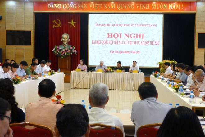 TBT Nguyễn Phú Trọng nói về việc được giới thiệu ứng cử Chủ tịch nước: Không phải vì nhất thể hóa, đây là tình huống - Ảnh 1.