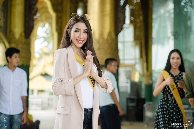 Nhan sắc xấu khó tin của các đối thủ Á hậu Việt Nam tại Hoa hậu Hòa bình Thế giới 2018 - Ảnh 6.