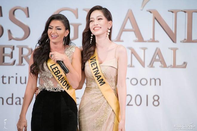 Nhan sắc xấu khó tin của các đối thủ Á hậu Việt Nam tại Hoa hậu Hòa bình Thế giới 2018 - Ảnh 19.