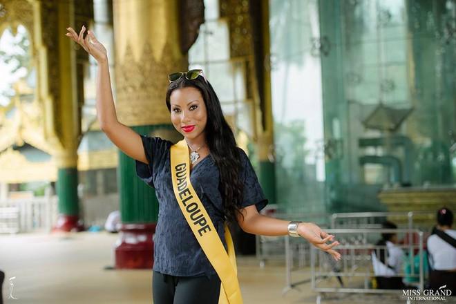 Nhan sắc xấu khó tin của các đối thủ Á hậu Việt Nam tại Hoa hậu Hòa bình Thế giới 2018 - Ảnh 2.