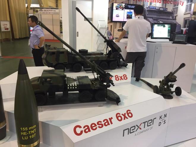 Pháp chào hàng phiên bản mới nhất của pháo tự hành CAESAR cho Việt Nam? - ảnh 1