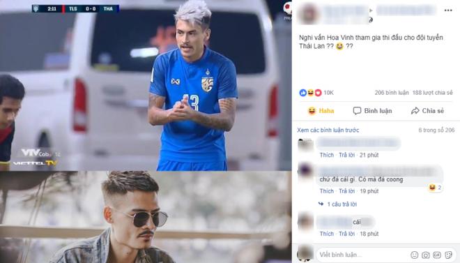 Xuất hiện 'anh em sinh đôi' của Hoa Vinh đá bóng cho tuyển Thái Lan tại AFF Cup - ảnh 1