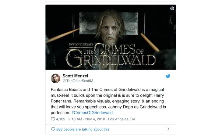 Bom tấn của vũ trụ điện ảnh Harry Potter nhận lời khen sớm từ giới phê bình và khán giả - Ảnh 6.