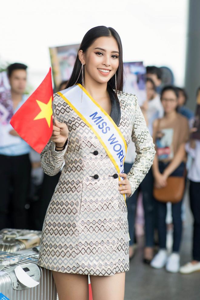 Ngày đầu tiên 'chinh chiến của Hoa hậu Trần Tiểu Vy tại Miss World 2018 như thế nào? - ảnh 1