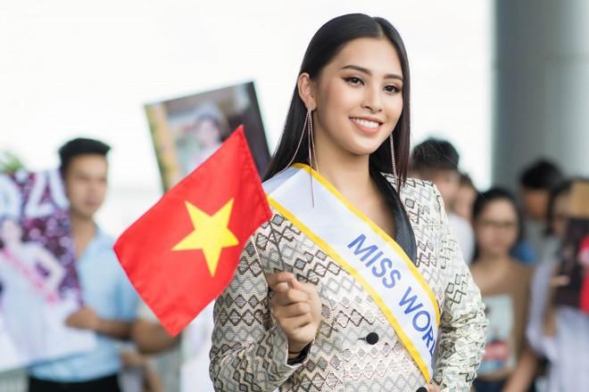 Ngày đầu tiên 'chinh chiến của Hoa hậu Trần Tiểu Vy tại Miss World 2018 như thế nào? - ảnh 2