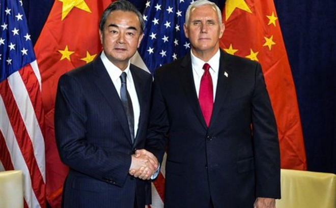 Phó Tổng thống Mỹ cảnh báo chiến tranh lạnh với Trung Quốc