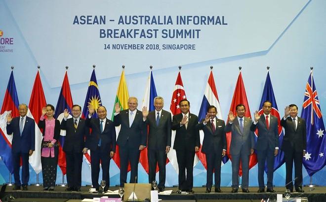 Thủ tướng Australia ủng hộ lập trường của ASEAN về Biển Đông