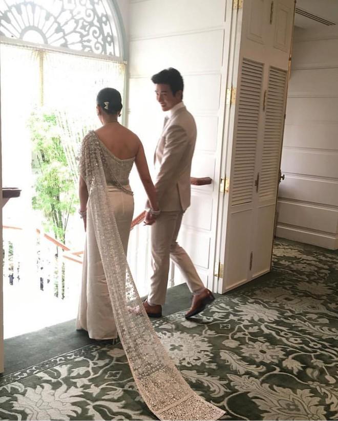 Đám cưới cặp quyền lực nhất Tbiz Push Puttichai và Jooy: Hôn lễ truyền thống siêu sang, dàn phù dâu phù rể khủng - Ảnh 5.