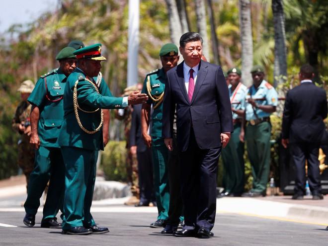 Ông Tập Cận Bình thăm nước chủ nhà APEC 2018: Một hành động bất thường đã xảy ra - Ảnh 6.