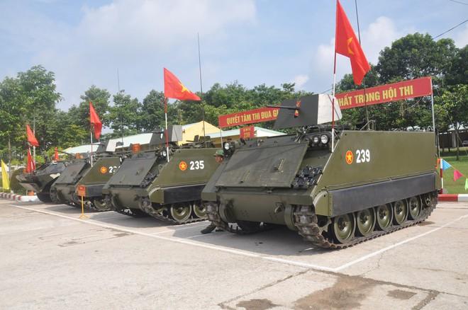 Chuyện ít người biết về các giáo viên dạy thực hành bắn trên xe tăng thiết giáp Việt Nam - ảnh 1
