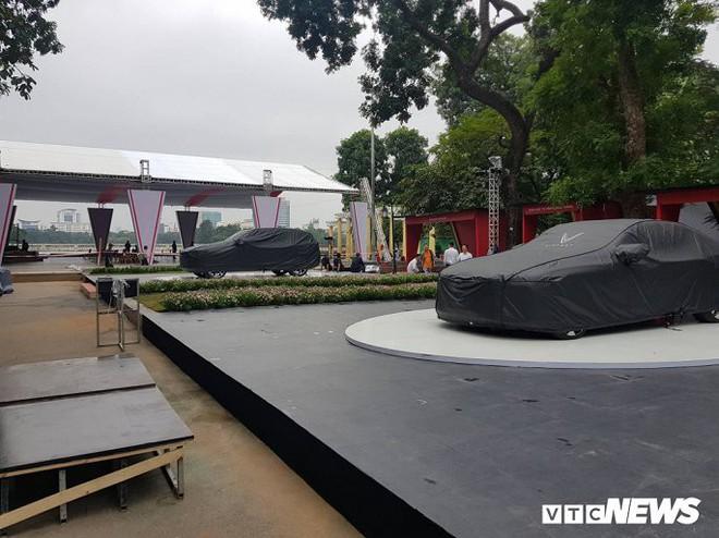 Hình ảnh mới nhất của ô tô VinFast tại Hà Nội chuẩn bị ra mắt ngày mai  - Ảnh 2.