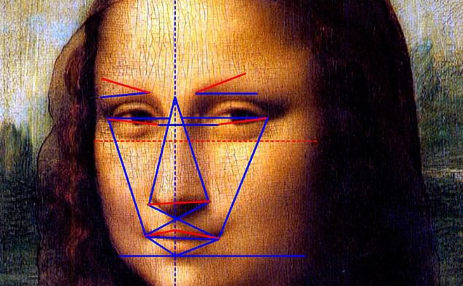 Theo tỷ lệ vàng của Hy Lạp, nàng Mona Lisa không đẹp hoàn mỹ như chúng ta vẫn tưởng