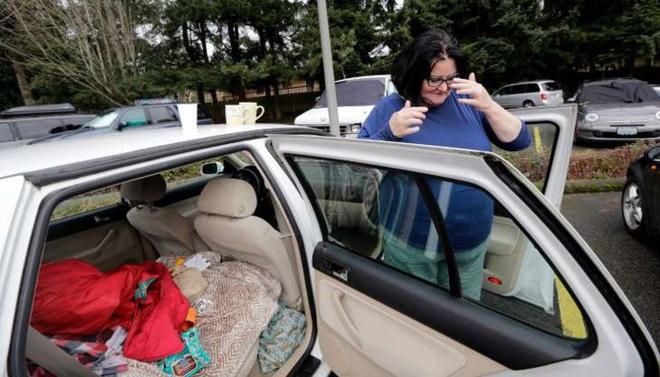 Người nghèo và vô gia cư ở Mỹ sống như thế nào? - Ảnh 3.