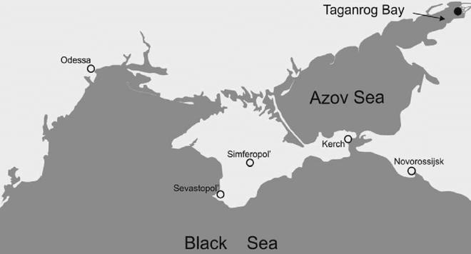 Biển Azov - chiến trường mới của xung đột Nga-Ukraine - Ảnh 2.
