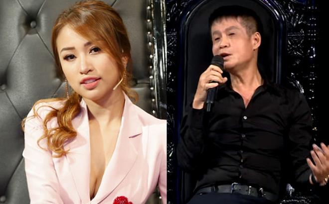 """Thái độ của Vân Hugo ra sao khi Lê Hoàng nói """"chúc mừng đã ly dị chồng"""" trên truyền hình?"""