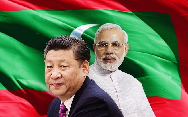 """Chìm trong bể nợ, Maldives tố Trung Quốc thổi phồng giá dự án, hô hào """"India First"""""""
