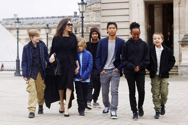 Brad Pitt sợ Angelina Jolie sẽ gây sự nhưng vẫn muốn ở bên các con - ảnh 1