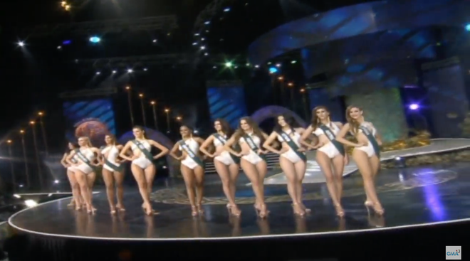 Clip Phương Khánh diễn bikini nóng bỏng, tự tin tại chung kết Hoa hậu Trái Đất 2018 - Ảnh 3.