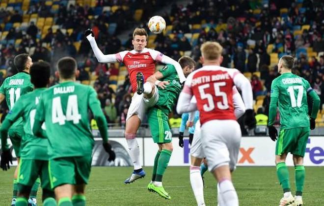 Toàn cảnh Vorskla 0-3 Arsenal: Pháo trẻ mở đại tiệc - Ảnh 12.