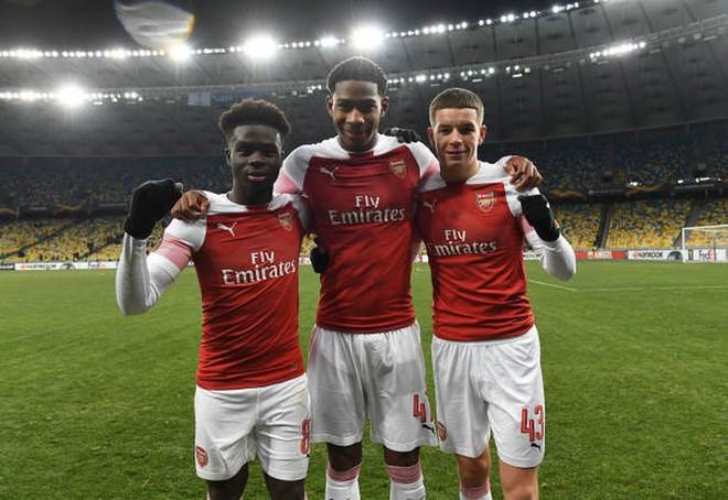 Toàn cảnh Vorskla 0-3 Arsenal: Pháo trẻ mở đại tiệc - Ảnh 13.