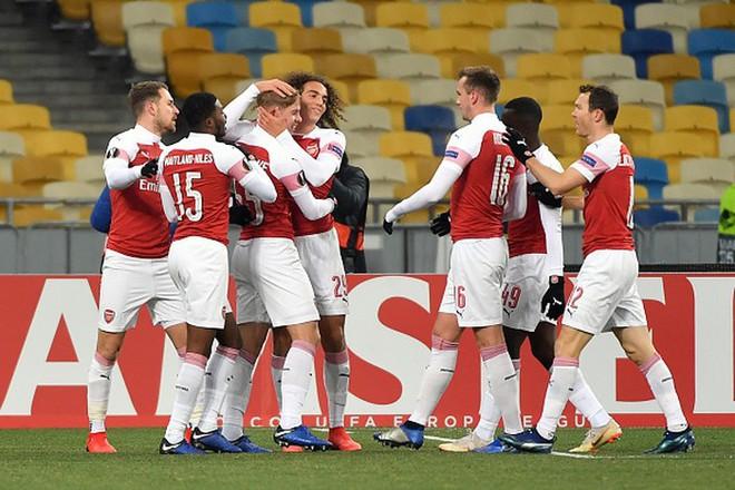 Toàn cảnh Vorskla 0-3 Arsenal: Pháo trẻ mở đại tiệc - Ảnh 5.