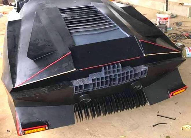 Cận cảnh siêu xe mui trần Lamborghini chờ ngày rước dâu được chế từ xe đồng nát của 9X Hà Tĩnh - Ảnh 11.