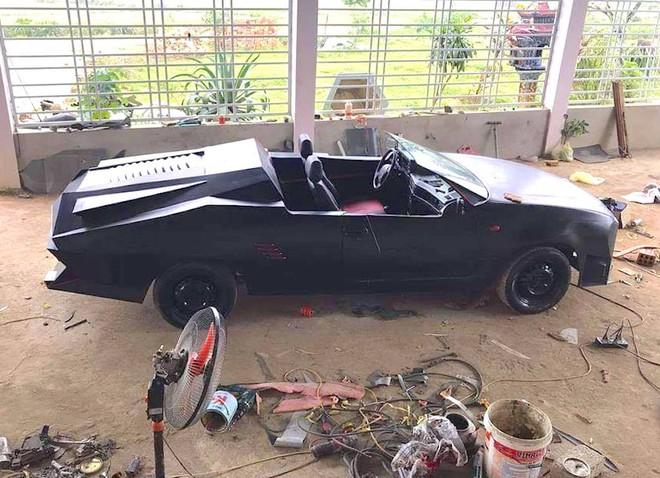 Cận cảnh siêu xe mui trần Lamborghini chờ ngày rước dâu được chế từ xe đồng nát của 9X Hà Tĩnh - Ảnh 6.