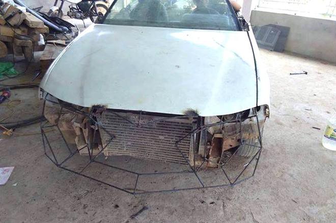Cận cảnh siêu xe mui trần Lamborghini chờ ngày rước dâu được chế từ xe đồng nát của 9X Hà Tĩnh - Ảnh 3.