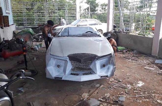 Cận cảnh siêu xe mui trần Lamborghini chờ ngày rước dâu được chế từ xe đồng nát của 9X Hà Tĩnh - Ảnh 5.