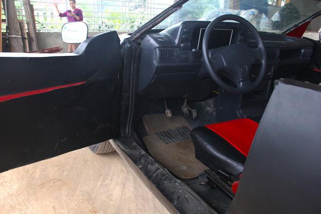 Cận cảnh siêu xe mui trần Lamborghini chờ ngày rước dâu được chế từ xe đồng nát của 9X Hà Tĩnh - Ảnh 17.