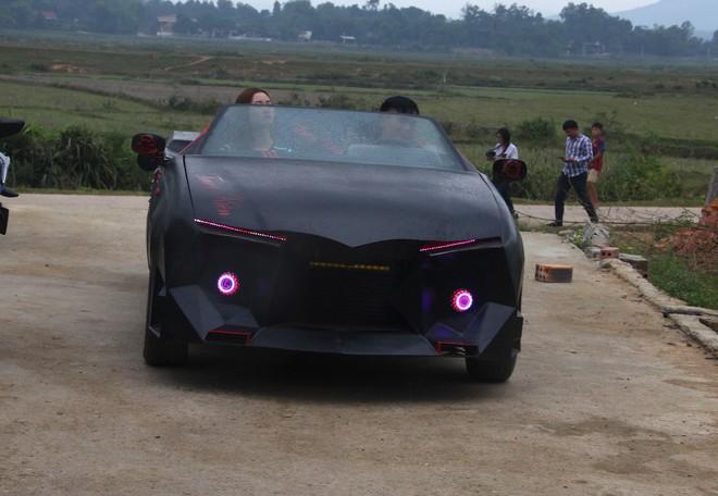 Cận cảnh siêu xe mui trần Lamborghini chờ ngày rước dâu được chế từ xe đồng nát của 9X Hà Tĩnh - Ảnh 13.