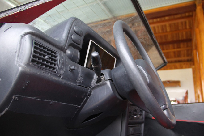 Cận cảnh siêu xe mui trần Lamborghini chờ ngày rước dâu được chế từ xe đồng nát của 9X Hà Tĩnh - Ảnh 15.